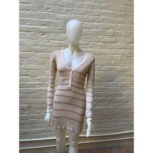 EUC MISSONI Italy Sheer Tunic Dress M Medium